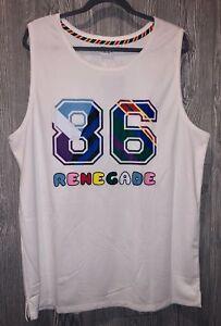 60ffb3f5d3ca PUMA Dee   Ricky Mesh NYC Renegade White Basketball Jersey Tank Top ...