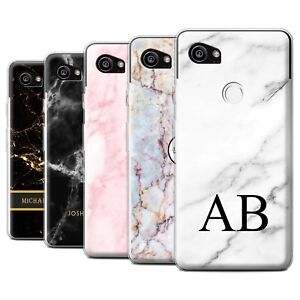 online retailer a7acd bf305 Details about Personalised Custom Marble Case for Google Pixel 2 XL/Initial  Gel/TPU Cover