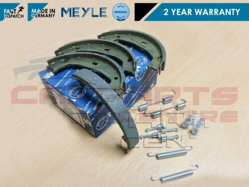 Per BMW 3 Series e46 Meyle Posteriore Freno A Mano Freno A Mano Park Scarpa Scarpe Kit di montaggio