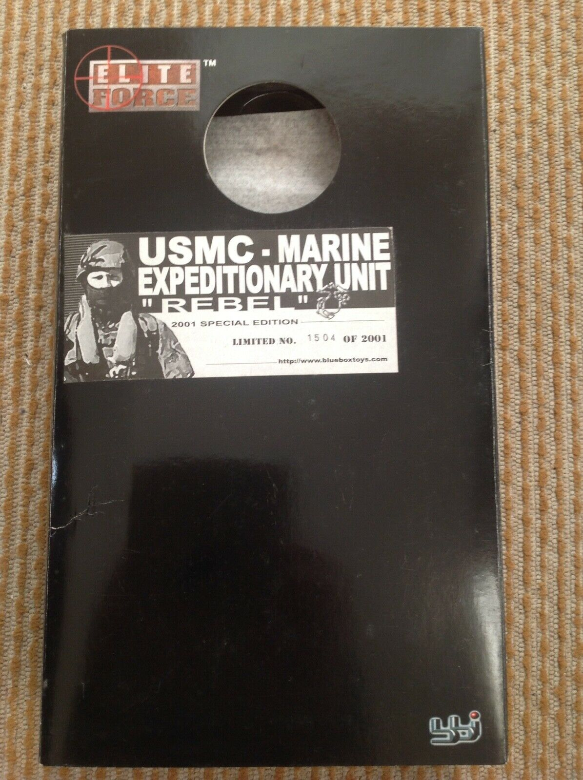 BBi Elite Force 1 6 Escala  Rebel  Unidad Expedicionaria Marina Usmc. edición 2001