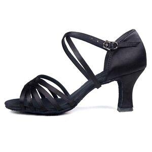 las mujeres niñas Zapatos de Baile Latino baile de tango salsa de las mujeres