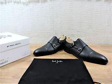 New Paul Smith Men's Black Double Buckle shoes UK 9 US 10 E 43