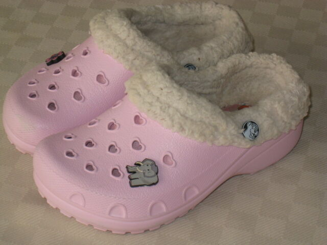 SKECHERS CALI GEAR YOUTH TODDLER GIRLS PINK OATMEAL LINNG CLOGS SIZE 12  GREAT 3fab91f8edd4