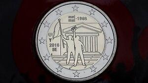 2 euro 2018 fdc BELGIO Mei Mai May 1968 Belgium Belgique Belgie Belgica Belgien