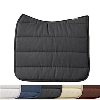 exclusive ESKADRON Cotton Schabracke creme/Multi braun Größe Dressur