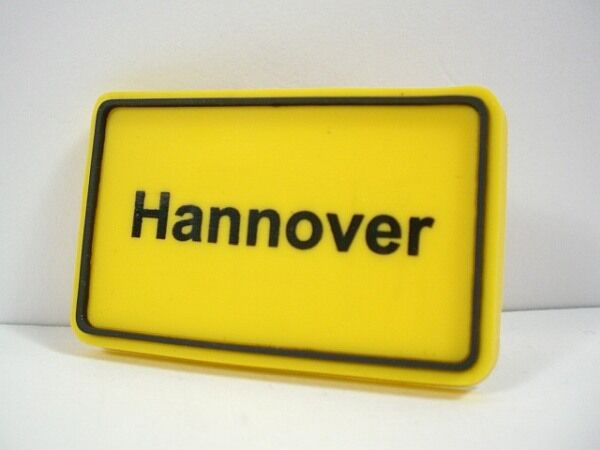 HANNOVER Magnet Kühlschrank,Fridge,Ortsschild,Neu