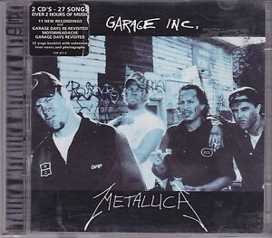 Metallica-Garage-Inc-2-cd-album