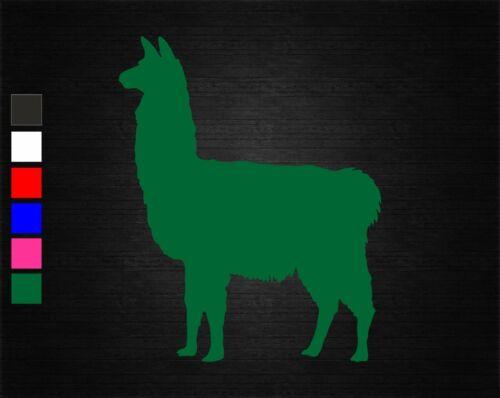 LLAMA FARM ANIMAL VINYL DECAL STICKER BEDROOM//CAR//VAN//WALL//DOOR//LAPTOP//TABLET