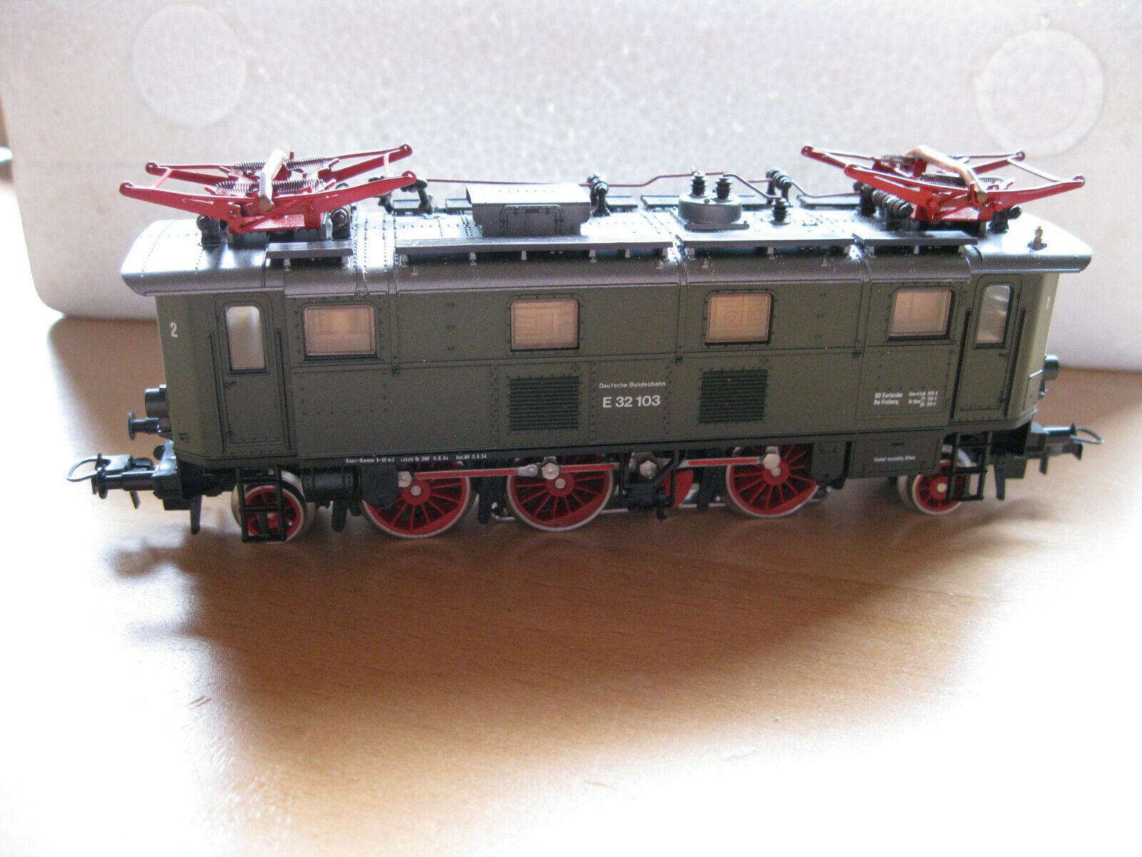 ROCO, 14145 a, elektrolokomotive BR 132, DB, corrente alternata AC, Imbtuttio Originale