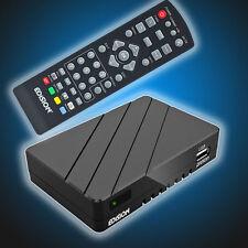 Edision Proton FullHD DVB-S2 Sat-Receiver HDMI HDTV Edison schwarz klein günstig