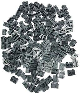 LEGO LOT OF 25 DARK BLUISH GREY 1 X 2 FACET MODIFIED BRICK BLOCK PARTS