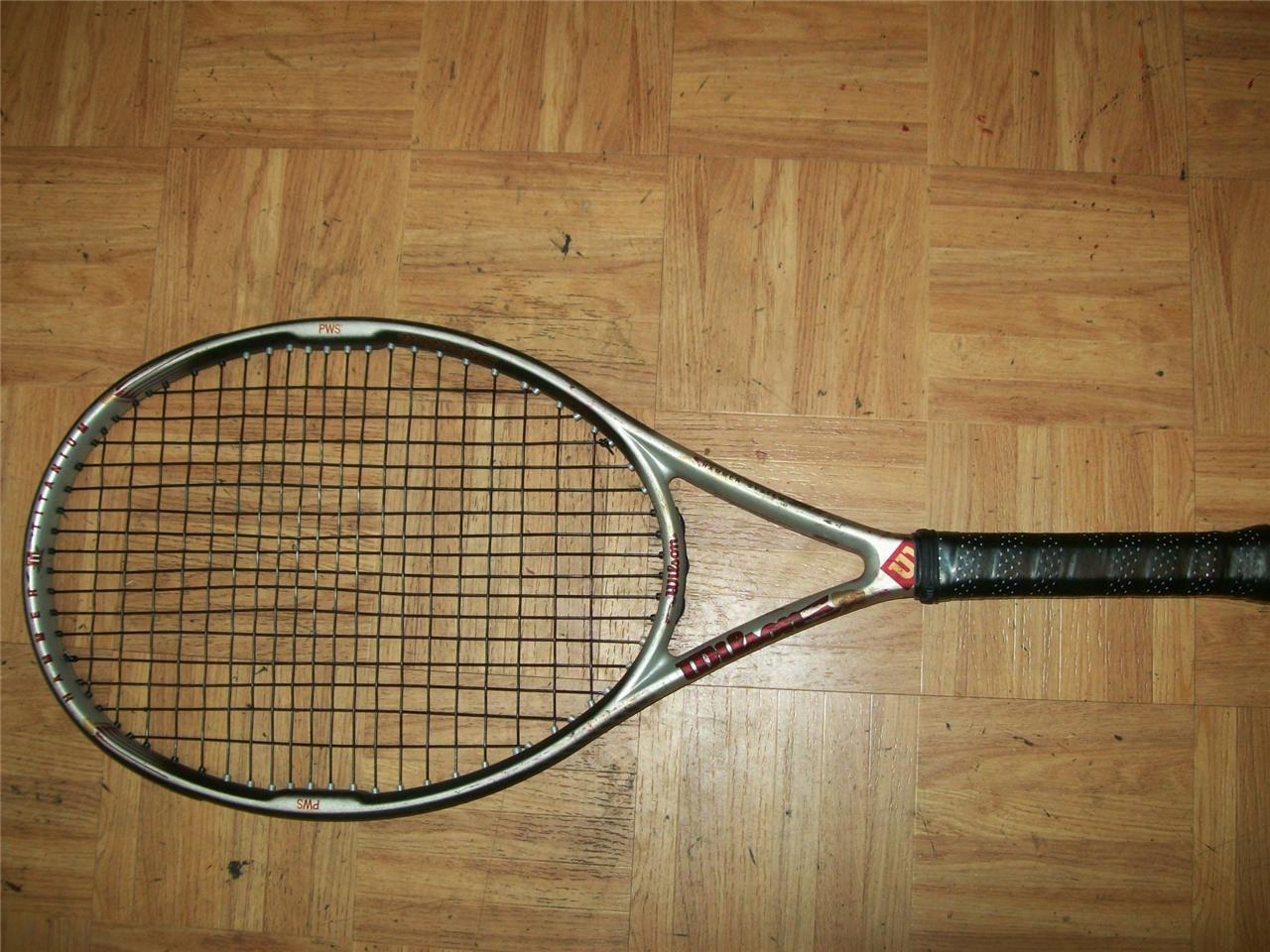 Wilson Hammer 4.4 os 110 Stretch 4 1 4  Grip Tenis Raqueta  más descuento