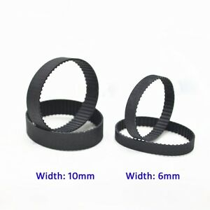 B149//B150 MXL Rubber Pulley Timing Belt Close Loop Synchronous Belt 6//10mm Width