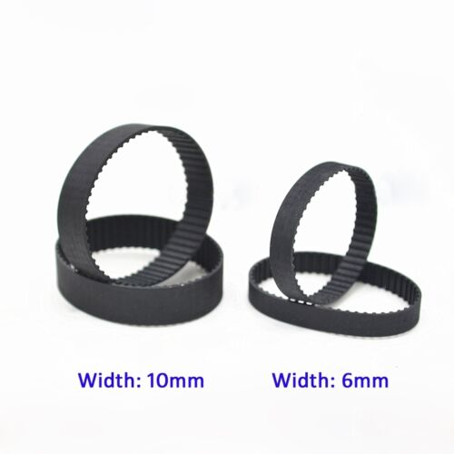 B72//B73//B75 MXL Pulley Timing Belt Close Loop Synchronous Belt 6//10mm Width