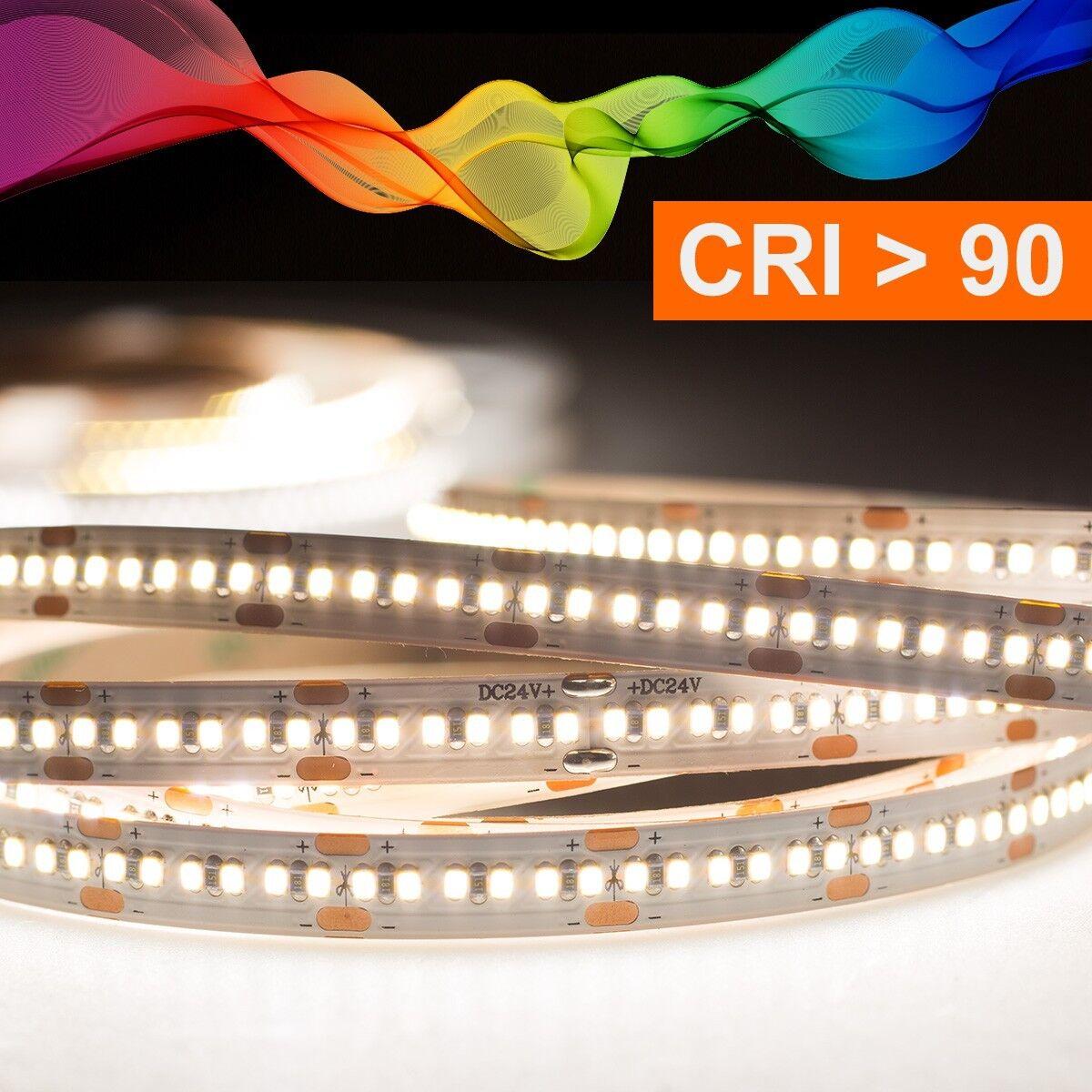 LED Strip 2216 Neutralweiß (4000k) CRI 90 90W 5 Meter 24V IP20  | Mittlere Kosten