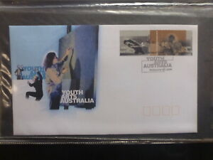 AUSTRALIA-1998-YOUTH-ARTS-SET-2-STAMPS-FDC-FIRST-DAY-COVER
