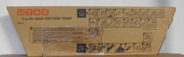 Original Utax 652610010 Toner black für CDC 1526 1526D TA DCC 2526 OVP B