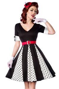 Rockabilly Black Ann Female Dress White Vintage Dress 8qxBwIB4U