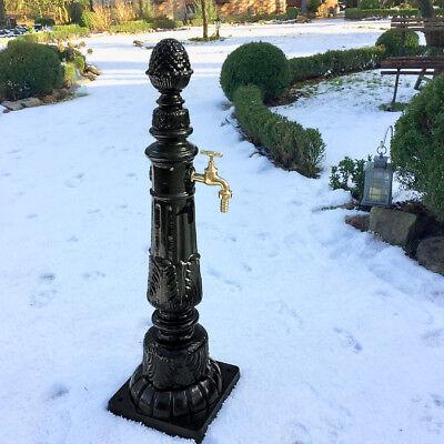 Gartenbrunnen mit Wasserhahn Nostalgie Zapfstelle Gartenbrunnen Säulenbrunnen