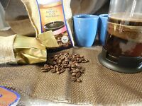Coffee- Jamaican Blue Mountain Coffee Grounds & Beans 1lb Bags (16oz)