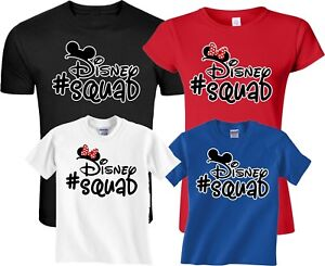 26318bbdc Image is loading FAMILY-VACATION-Disney-Squad-Mickey-And-Minnie-Matching-