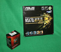 Combo Amd Fx 8320e 4ghz Processor & Asus M5a78l-m+ Motherboard Builder Combo