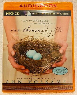 One Thousand Gifts Ann Voskamp MP3-CD