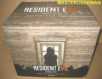 PS4 Resident Evil 7 Biohazard Collector's Edition New + Bonus DLC