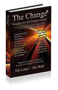 The Change 11: Insights Into Self-empowerment Jim Britt signed by Jerry Tolle
