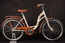 26 pollici donna Amsterdam bicicletta citybike cityrad damenrad CLASSICA VINTAGE NUOVO