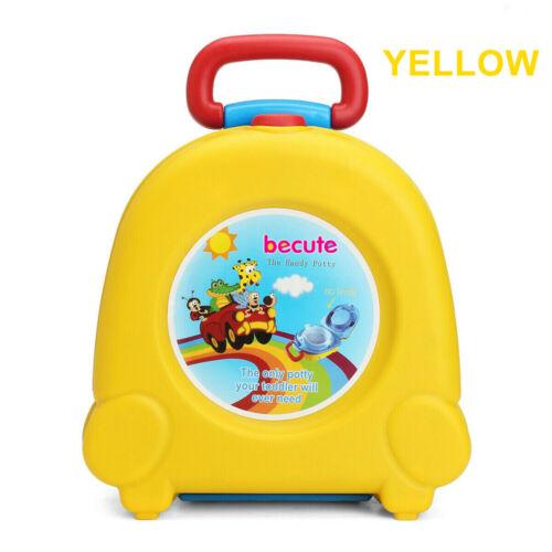 Portable Kids Toilet Seat Child Baby Toddler Training Potty Car Travel Seat UK