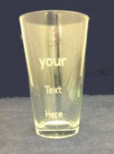 2080b0deac0 Engraved Best Man Groomsman Pint Beer Glass 16 oz Personalized Wedding Favor