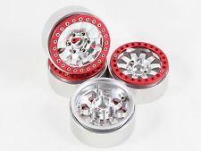 "ALIENTAC Four(4) 1.9"" Wide 1"" Alloy Beadlock Wheel Rim for 1/10 RC Model #015"