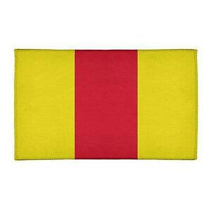 East Urban Home NHS National Hockey Stripes Yellow Area Rug Canada Preview
