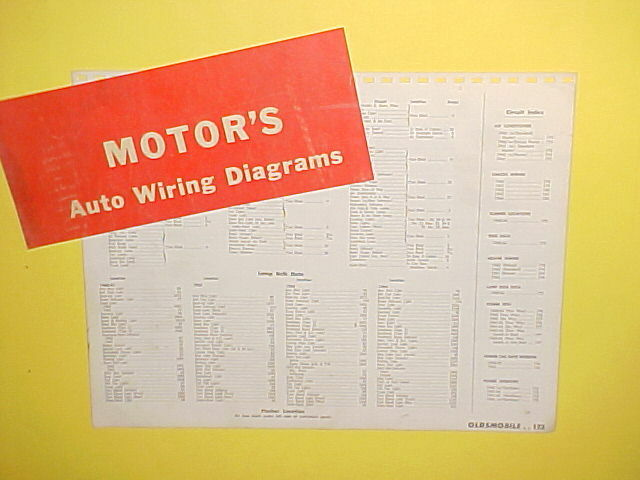 Diagram Free Auto Wiring Diagram 1962 Oldsmobile Dynamic 88