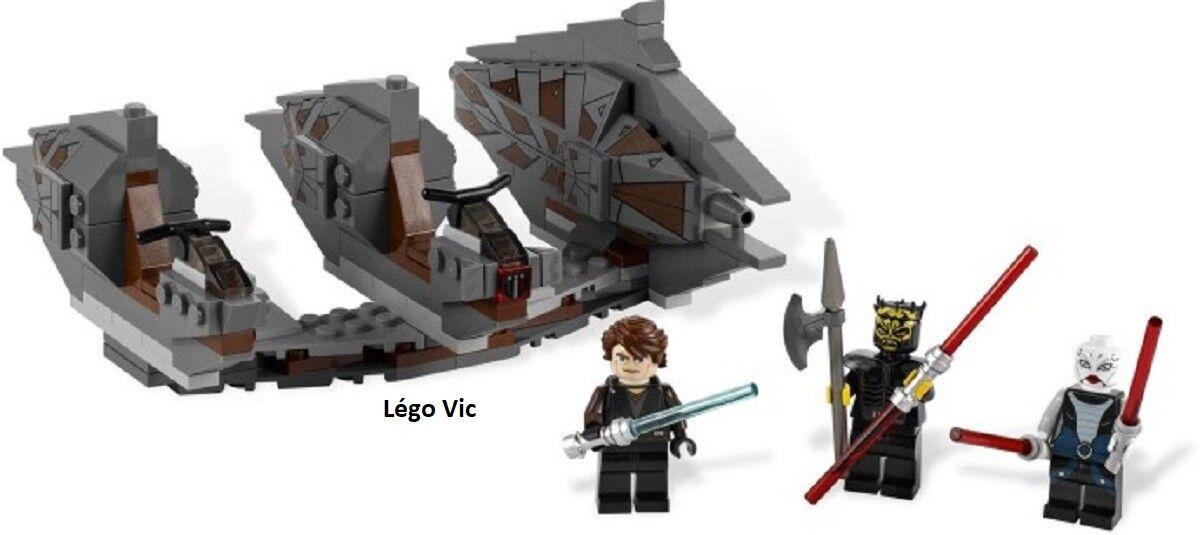 Lego 7957 Star Wars Sith Nightspeeder + Notice complet de 2011 -CN79