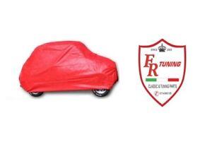 TELO COPRIAUTO DA INTERNO ROSSO FIAT 500 | eBay