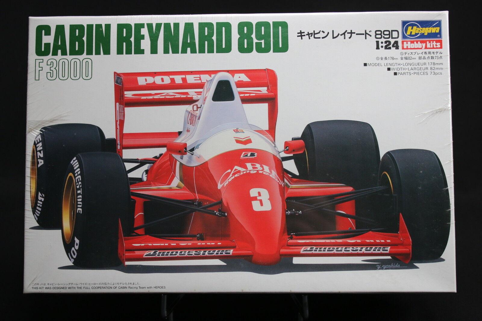 XO014 HASEGAWA 1 24 maquette voiture 23007 CF007 1200 Cabin Reynard 89D F3000
