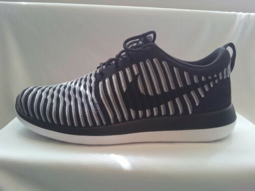 Trainers Uk Black Roshe Running eur Two Flyknit Nike Women's 41 gym Size 7 7RYnqfn8aW