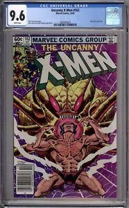 X-Men 162 CGC Graded 9.6 NM+ Newsstand  Wolverine Marvel Comics 1982