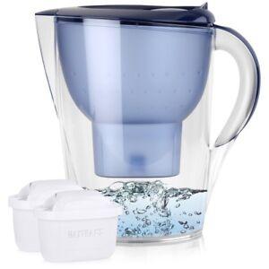 BRITA-Marella-XL-3-5L-Wasserfilter-Blau-inkl-2x-Maxtra-Kartuschen