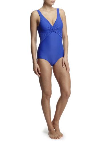 BHS Blu Tummy controllo Shapewear TORSIONE ANTERIORE swimsuit costume NUOVO UK SZ 10 A 22