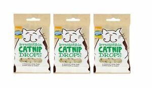 CATNIP-DROPS-X-3-packs-of-40g-Cat-Treats-GOOD-GIRL-Flavoured-With-REAL-Catnip