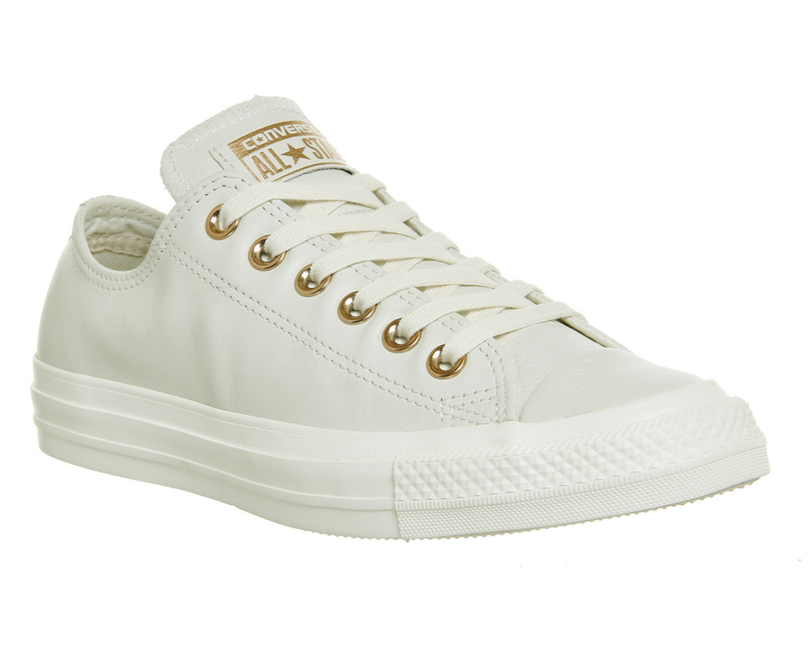 Womens Converse Bll Star Low Leather EGRET ROSE GOLD EXCLUSIVE Trainers Shoes