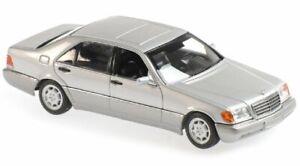 MB Mercedes Benz 600 SEL - 1992 - silver - Maxichamps 1:43