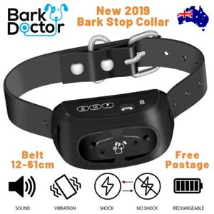 2019-BARK-DOCTOR-PB10-BARK-STOPPING-COLLAR-RECHARGEABLE-SOUND-VIBRATION-STATIC