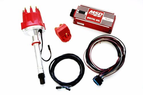 SBC//BBC MSD Ignition 6AL Box w// SpeedMaster Pro Billet Distributor /& Coil 6425