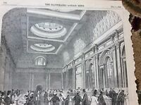 m4-6 ephemera 1849 picture dank of england new drawing office