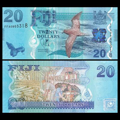 2013 P-117 Fiji 20 Dollars UNC banknote ND