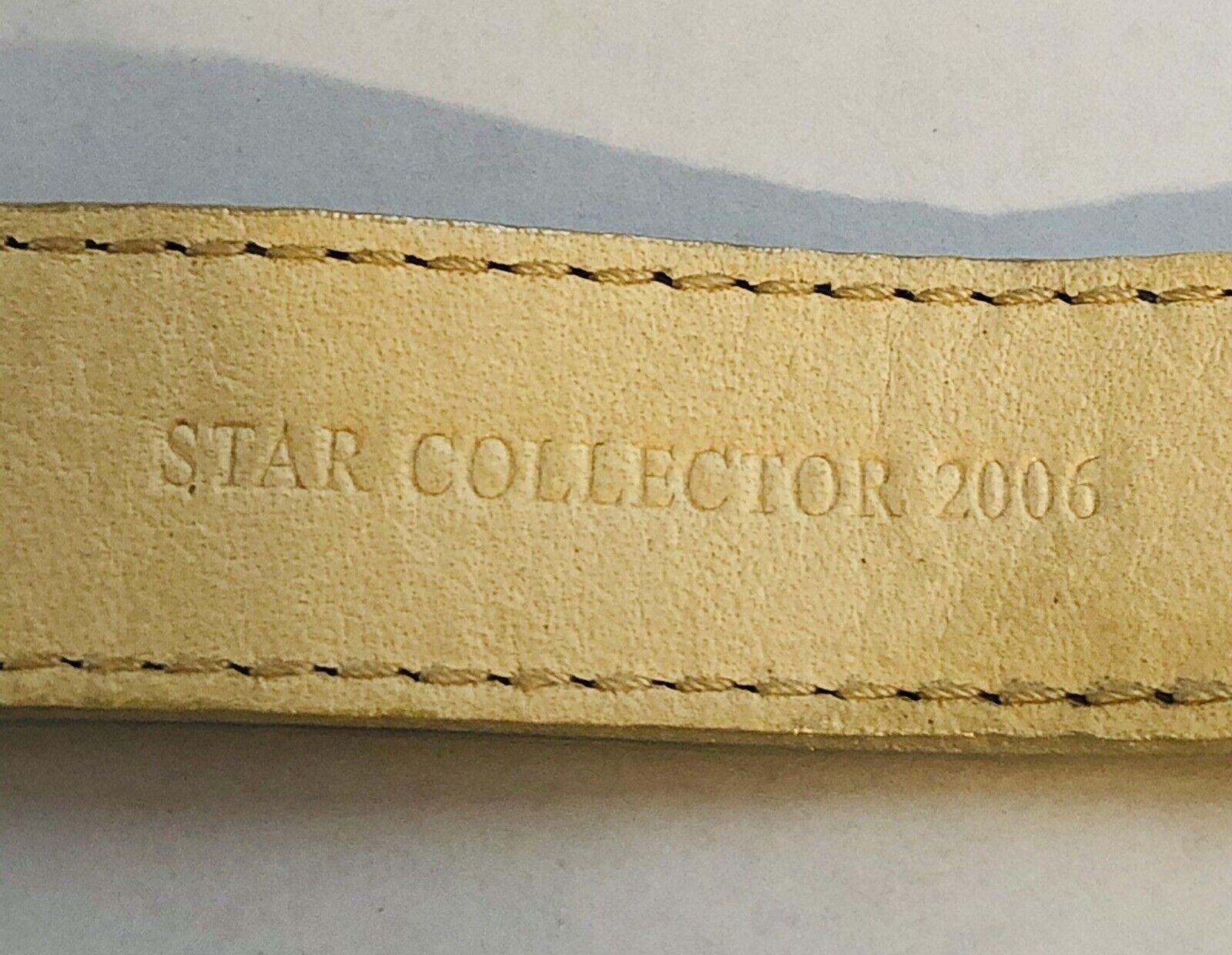 DANIEL SWAROVSKI Star Collection 2006 Silver Meta… - image 10